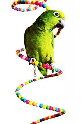 New-Flexible-Colorful-Rotate-Ladder-Crawling-Bridge-Pet-Parrot-Macaw-African-Greys-Bird-Toy-cage-toys-cages-cockatiel-parakeet-0